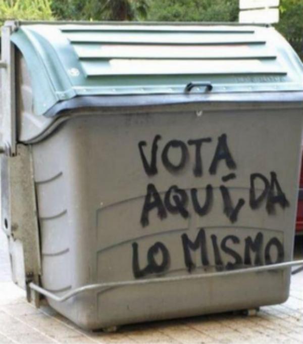 El voto que viene.