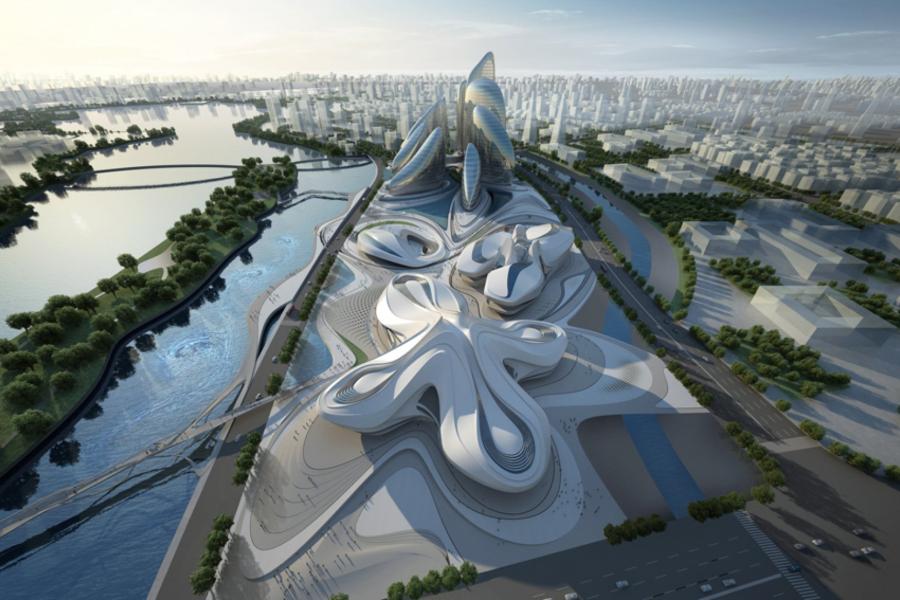 Arquitectura y mujer. Zaha Hadid Architects