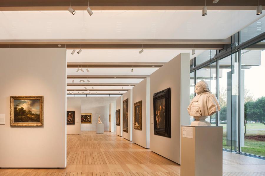 Kimbell Art Museum. Pabellón de Renzo Piano