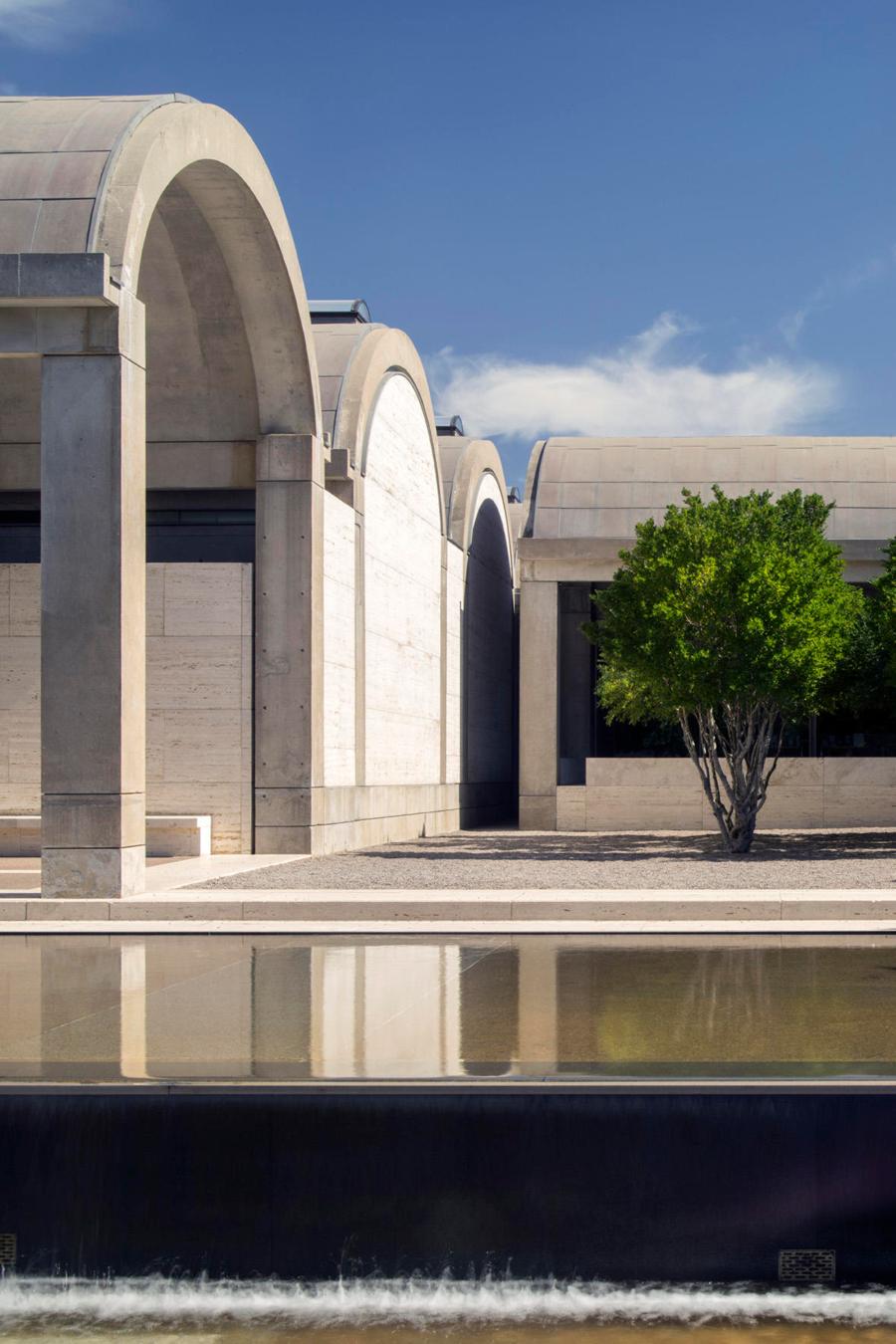Kimbell Art Museum. Edificio Louis I. Kahn