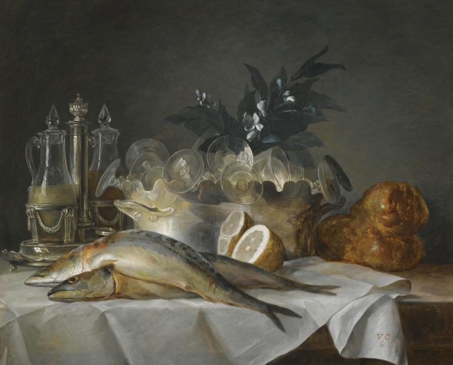 Naturaleza muerta. Anne Vallayer-Coster. Art Museum. Texas.