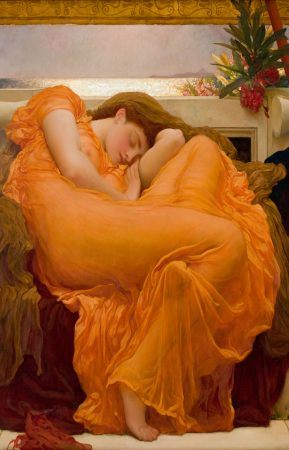 Junio ardiente. Frederic Leighton