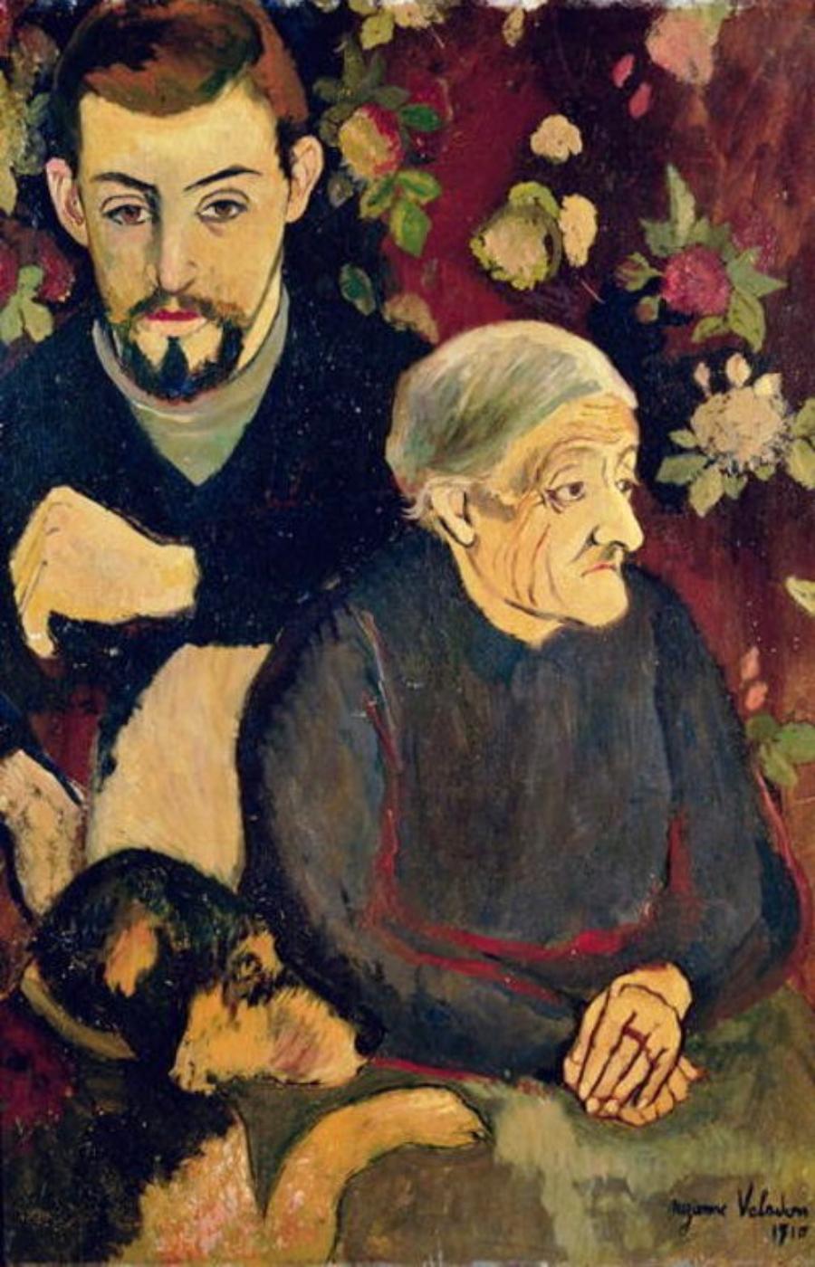 Suzanne Valadon. Retrato de Maurice y Madeleine, 1910