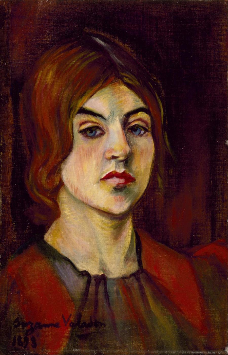 Suzanne Valadon. Autorretrato 1898