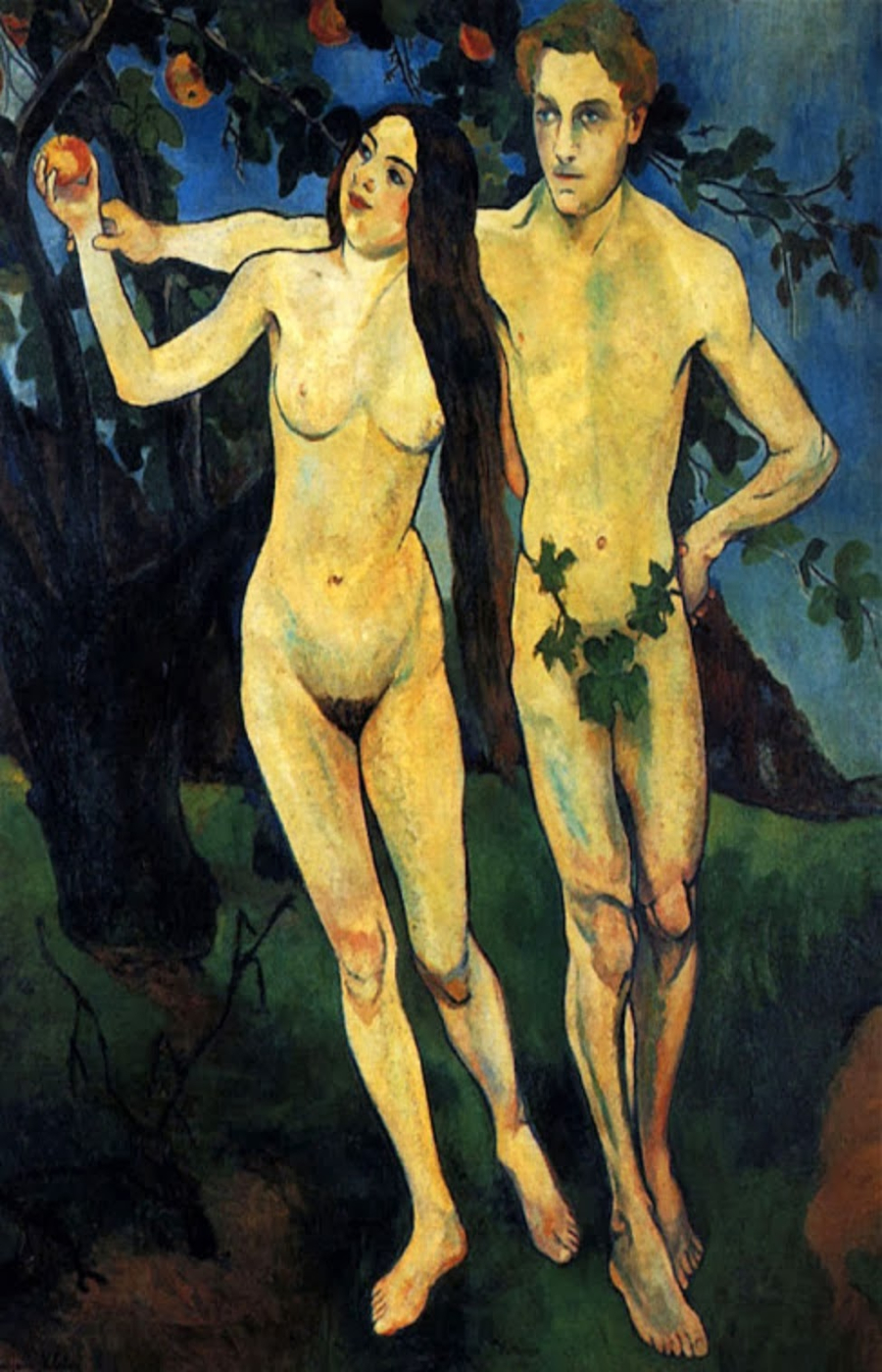 Suzanne Valadon. Adam et Eve, 1909. Centro George Pompidou