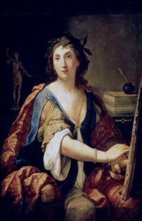 Elisabetta Sirani. Autorretrato. Museo Pushkin. Moscú