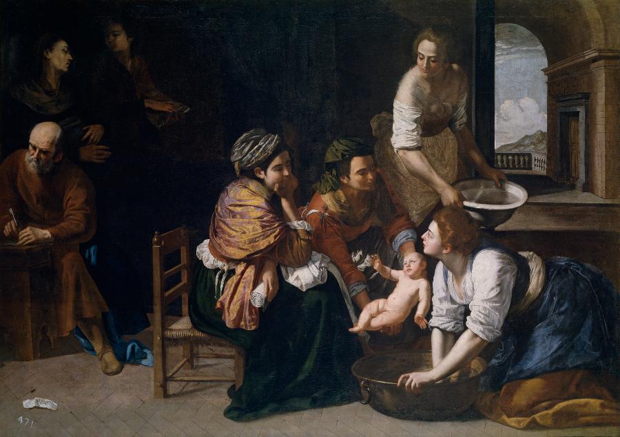Nacimiento de san Juan Bautista (1633-1635)