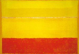 "Mark Rothko.""Sin título"", 1953. Óleo sobre lienzo, 299,5 x 442,5 cm. Museo Guggenheim Bilbao"