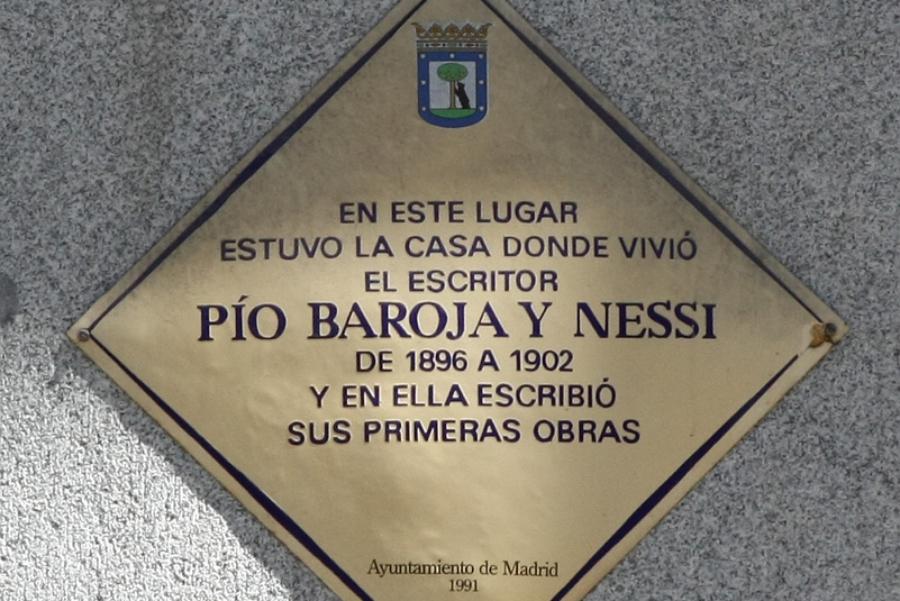 Pío Baroja. Juan Álvarez Mendizábal nº 34