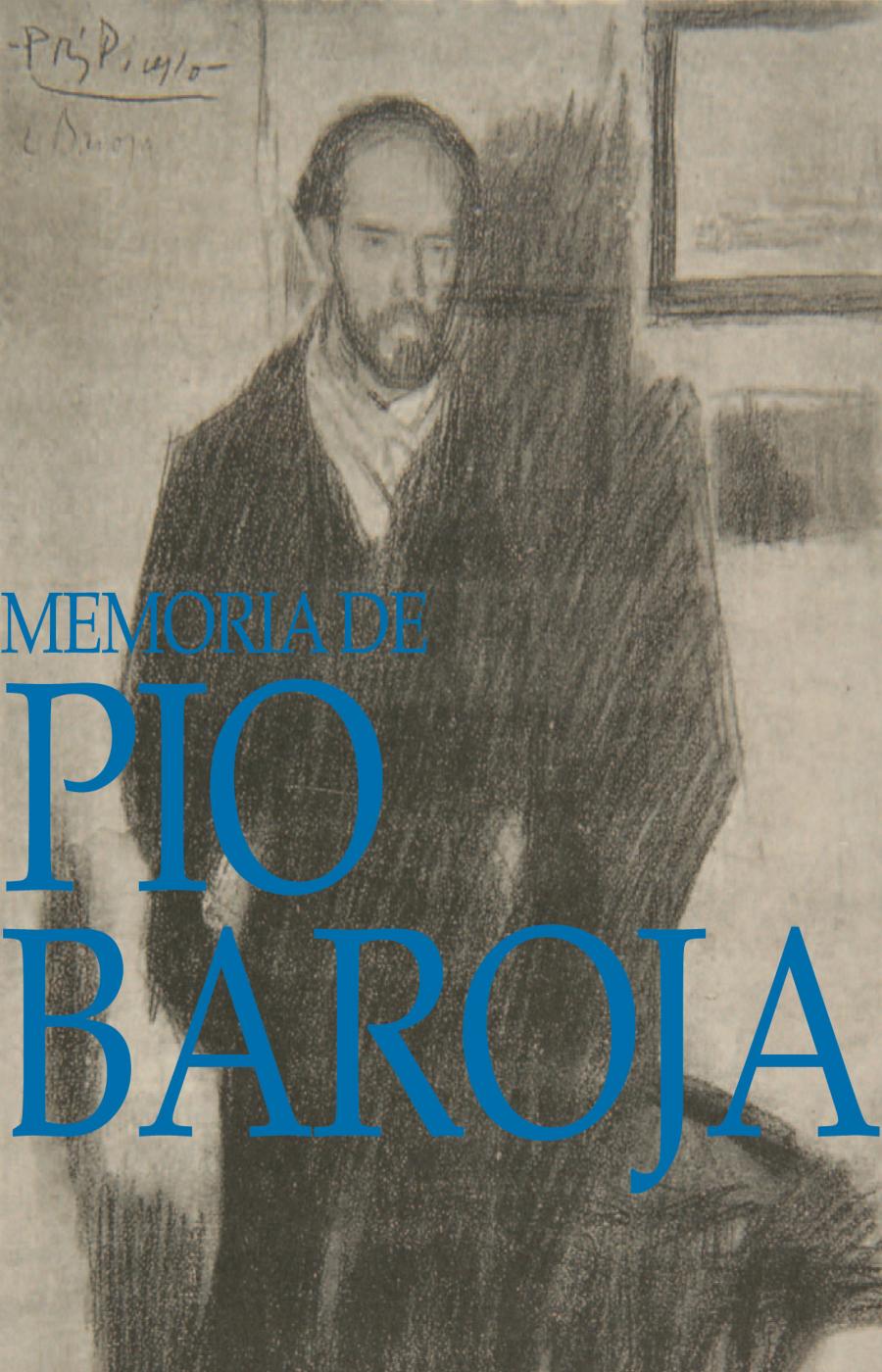 Memoria de Pío Baroja. Cartel de la exposición 2006