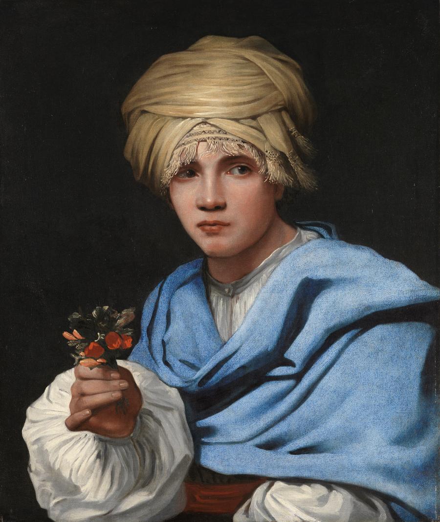 ¿Por qué nos mira así la joven de la perla?Muchacho con turbante y ramillete de flores. Michael Sweerts. 1658. Museo Thyssen Bornemisza (Madrid).