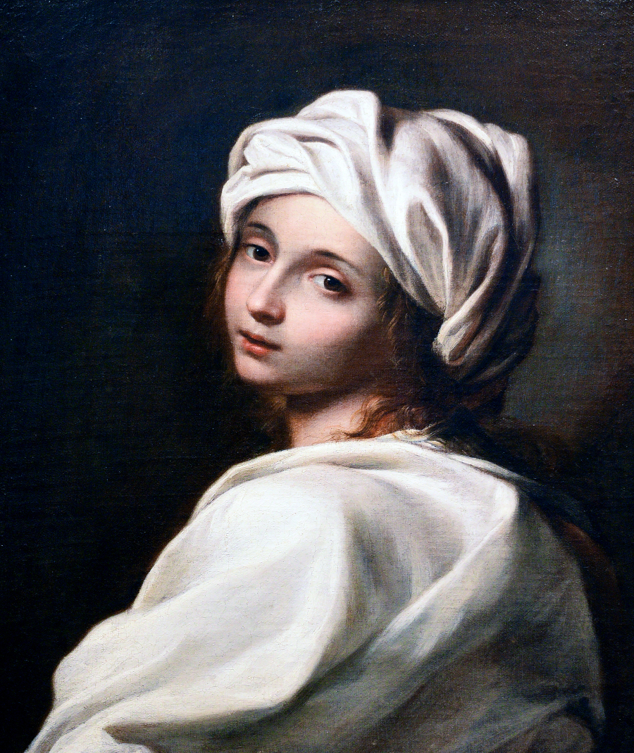 ¿Por qué nos mira así la joven de la perla? (I). Beatrice Cenci, atribuido a Guido Reni, que Percy Bysshe Shelley vio en Palazzo Colonna en 1818.
