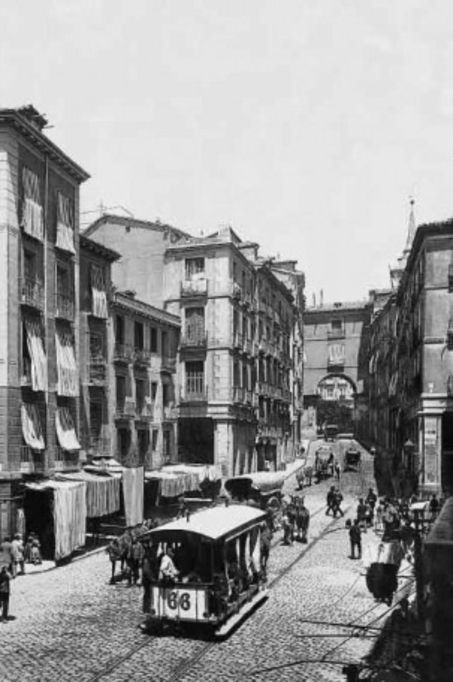 La calle de Toledo en tiempos de Benito Pérez Galdós