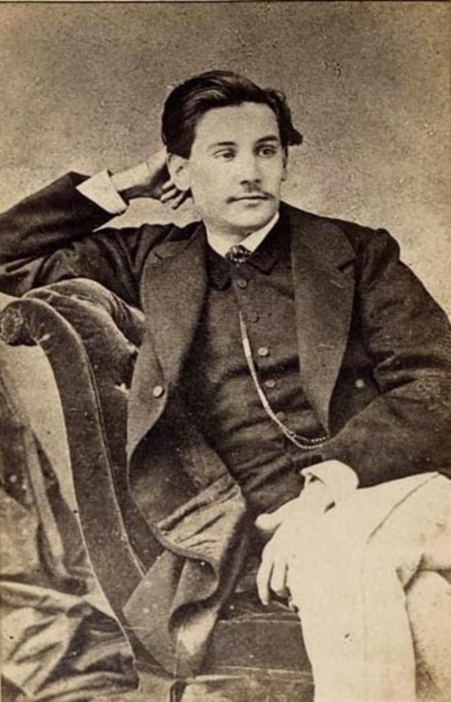 Benito Pérez Galdós. 1863.
